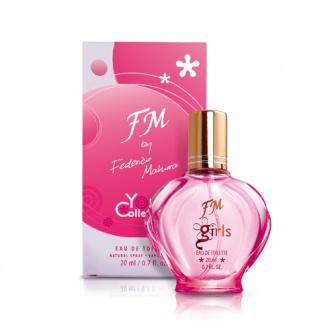 Eau de toilette FM88 for girl